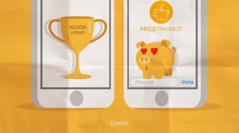 Price trackbot ,il bot di telegram che segue il prezzo.