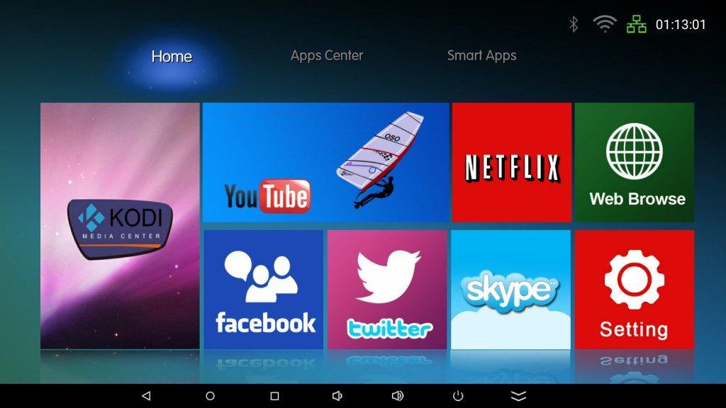 Facebook per Android tv