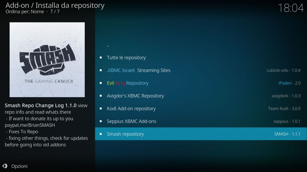 Smash Repository