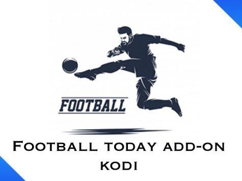 Football today add-on kodi