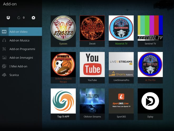 Eyasses Kodi - add-on di vari contenuti   | Infotelematico