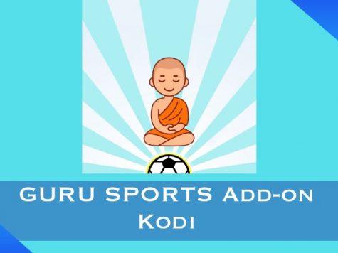 GURU SPORTS Add-on Kodi