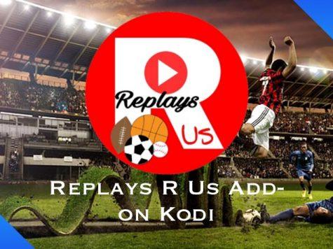 Replays R Us Add-on Kodi