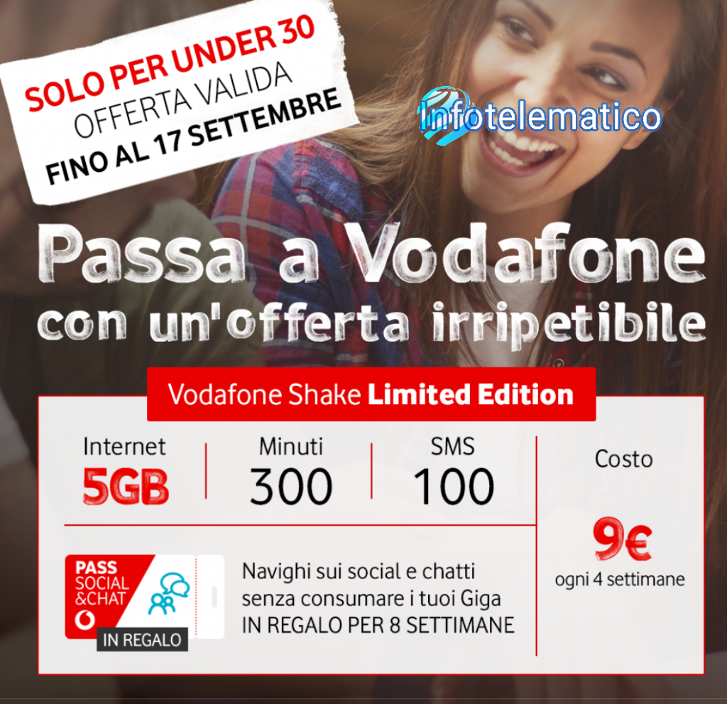 Vodafone Shake Limited Edition