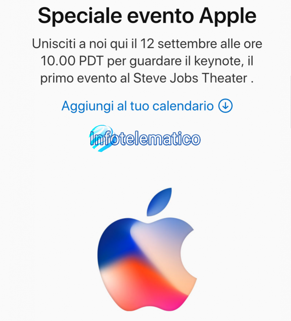 12 settembre iPhone 8