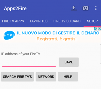 app Android su Fire