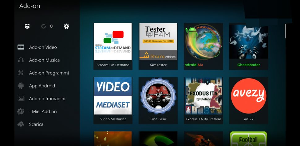 Stream on deman add-on kodi 5.7.2 Bug fix