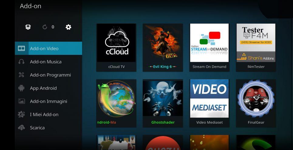 CCLOUD TV Add-on kodi
