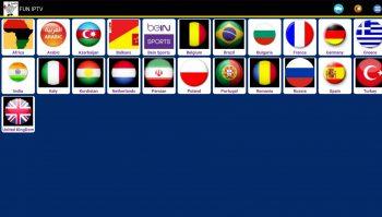 Fun IPTV apk - tantissime liste per questa nuova app