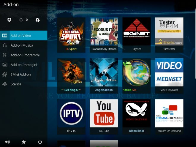 Ek sport add-on kodi