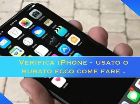 Verifica iPhone