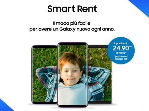 Smart rent di Samsung