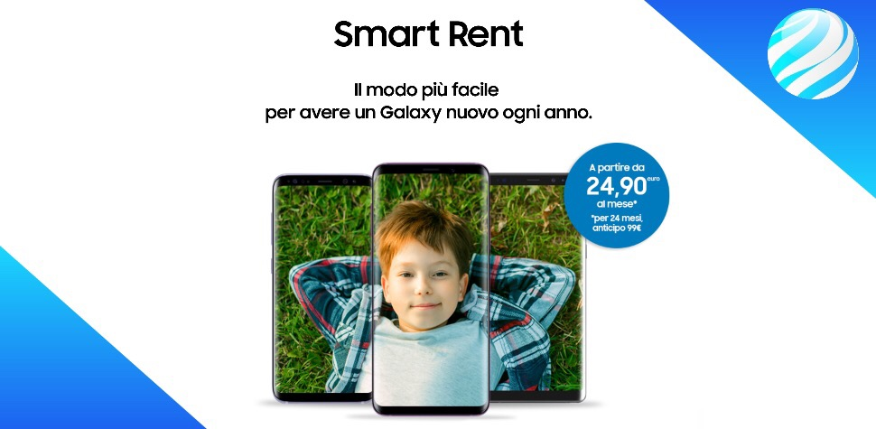 Smart rent di Samsung