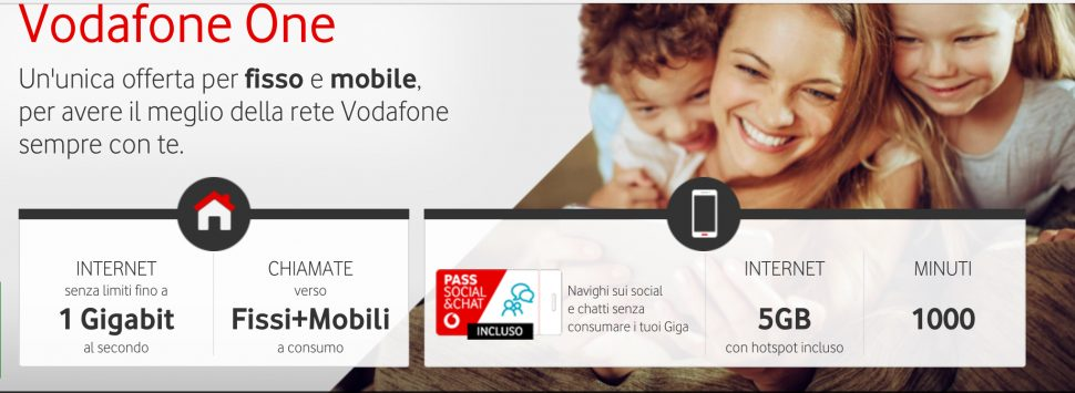 Vodafone One Family