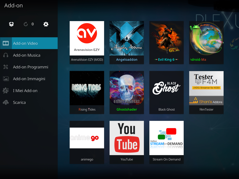 Arenavision add-on kodi