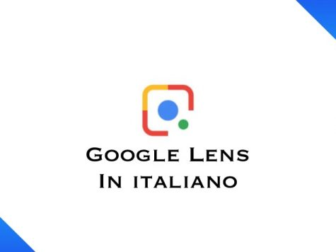 Google Lens In italiano