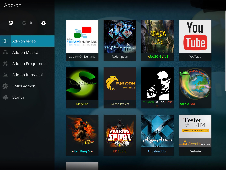 Stream on demand add-on Kodi