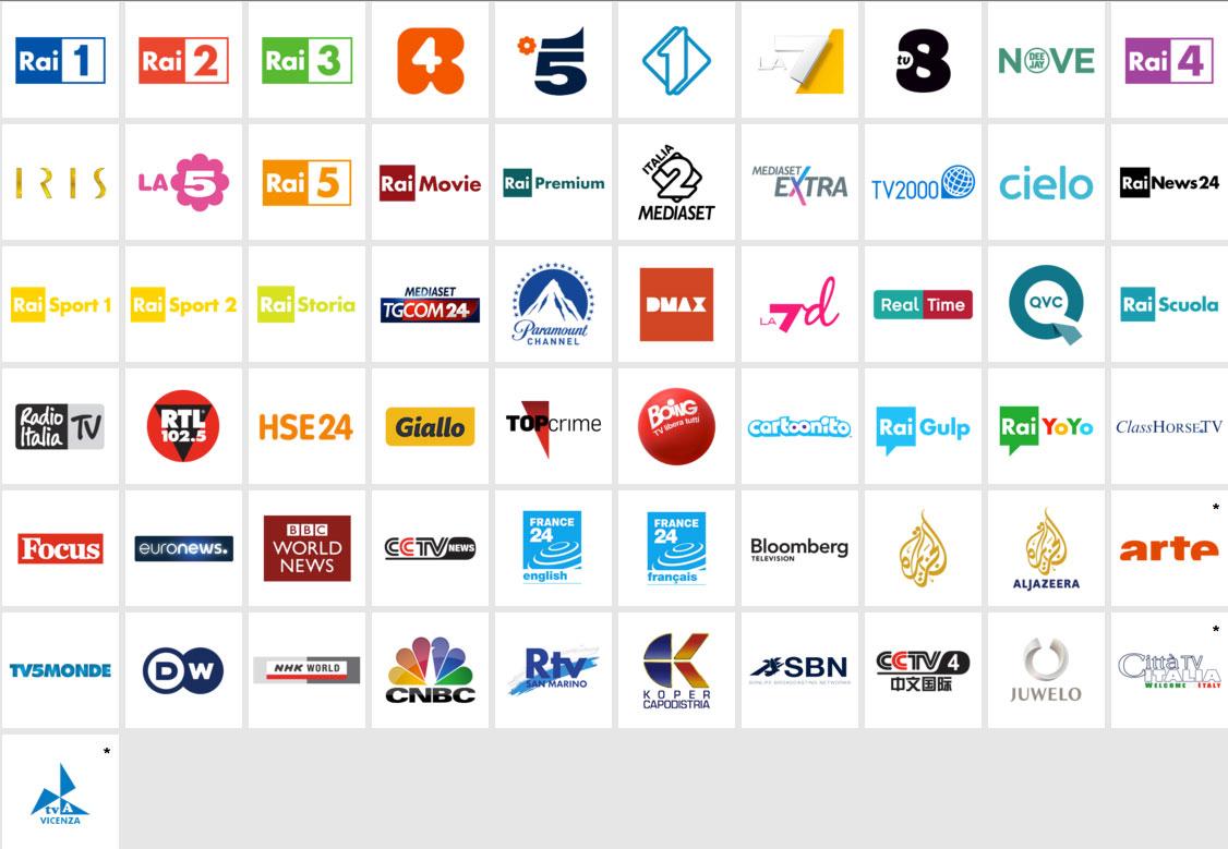 Canali tv streaming gratis