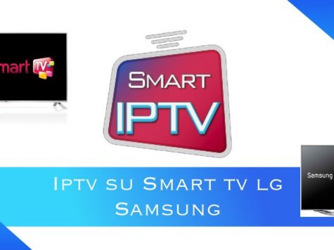 iptv su Smart tv Lg e Samsung