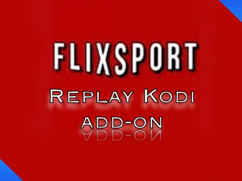 FlixSports Replays Kodi