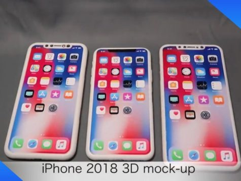 iPhone 2018 3D mock up