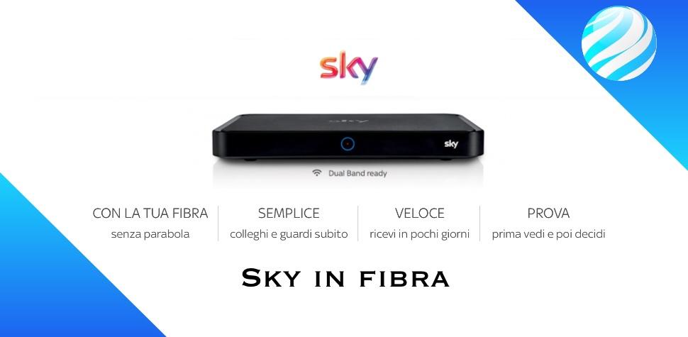 Sky in fibra