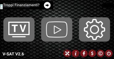 Applicazione IPTV sportiva