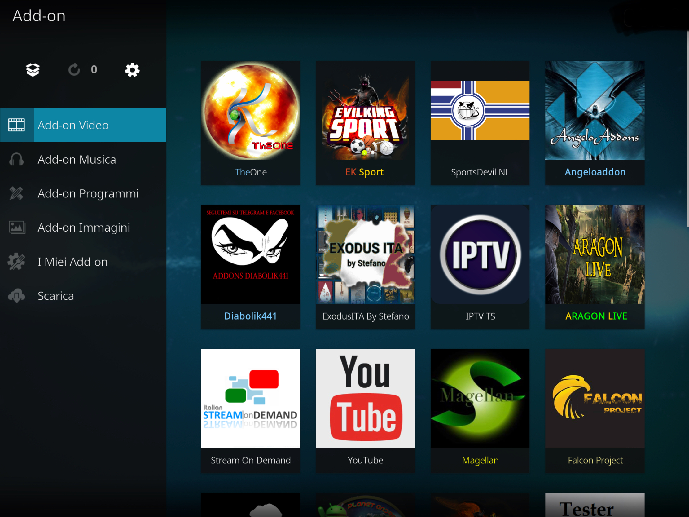 The one add-on kodi