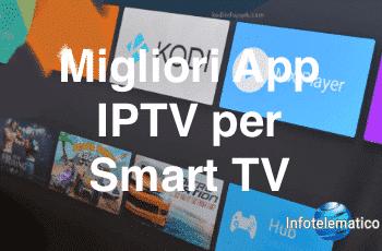 App IPTV per Smart TV