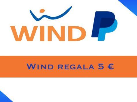 Wind regala 5 €
