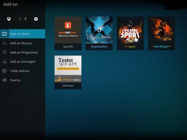 Sport365 add-on kodi - solo sport dal vivo  | Infotelematico