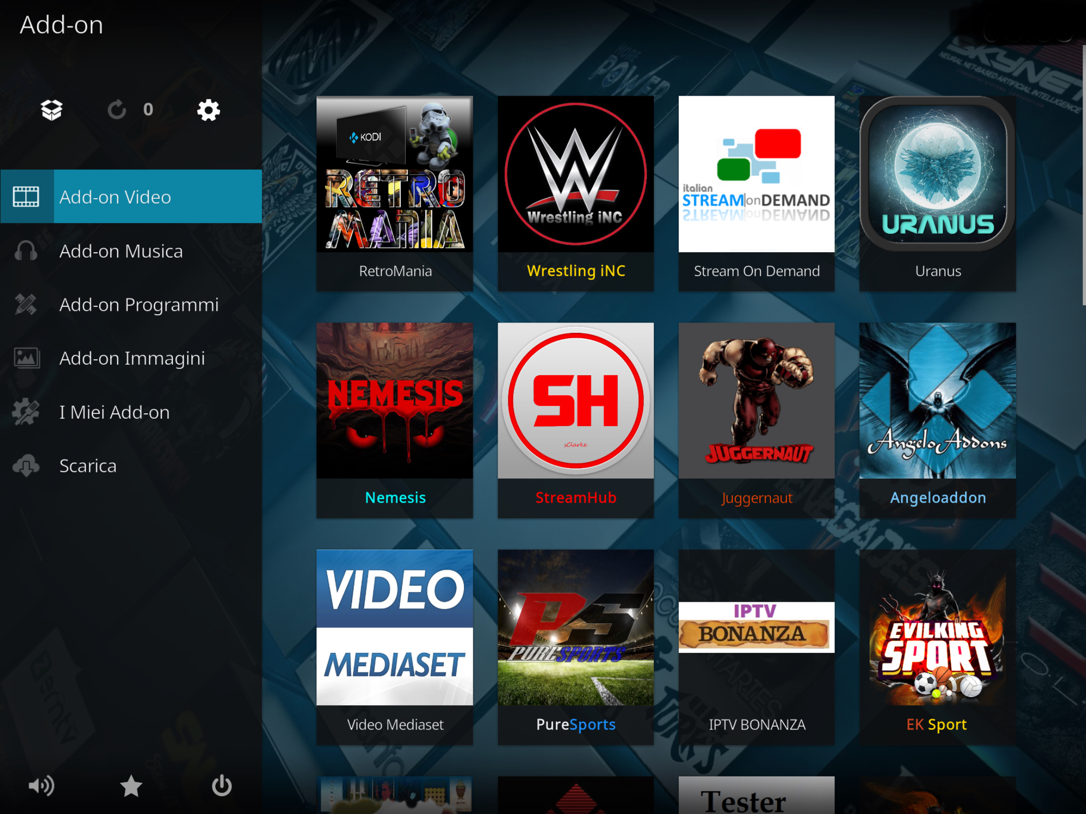 Retromania add-on kodi