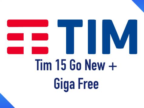 Tim 15 Go New + Giga Free