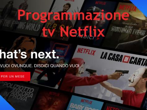 Programmazione tv Netflix