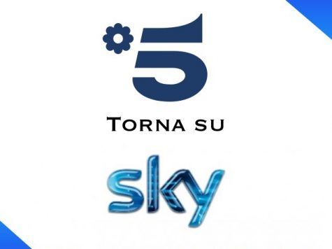Canale 5 torna su Sky