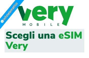 Esim Very Mobile