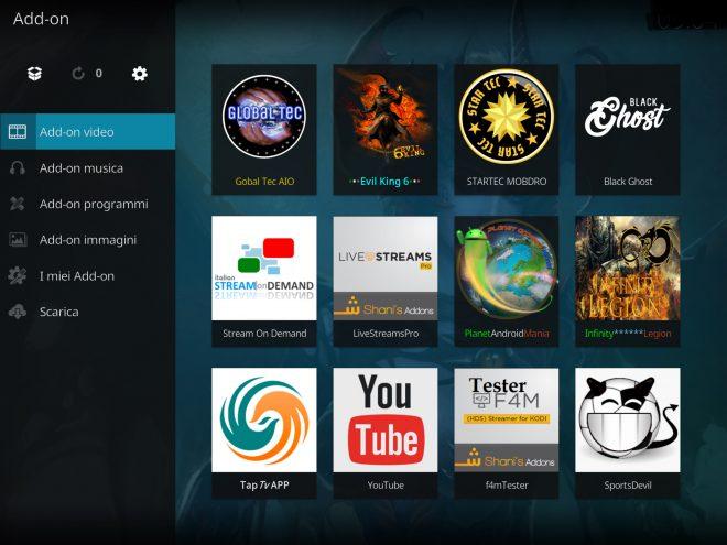 Global Tec AIO Add-on Kodi