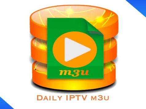 Daily IPTV m3u