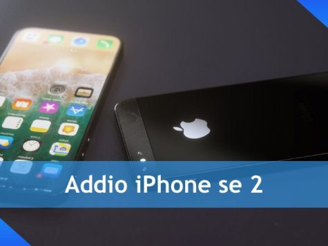 Addio iPhone se 2