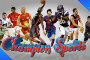 Champion sports kodi