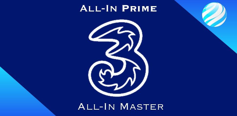 All-In Prime e All-In Master