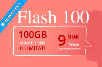 Flash 100 iliad