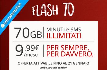 Flash 70 Iliad