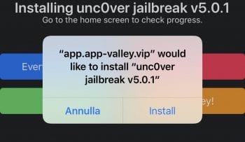 Jailbreak iOS 13.5 senza Computer