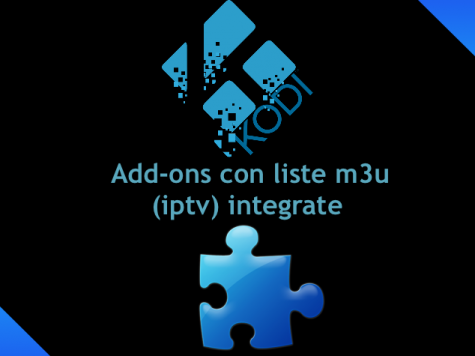 add-ons di kodi con liste m3u (iptv)