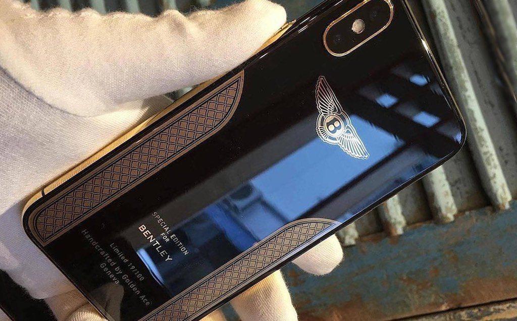 iPhone X Bentley