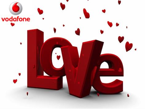 Vodafone happy San Valentino