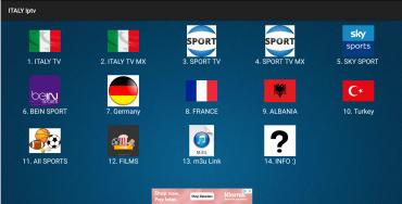 ITALY IPTV SCARICA