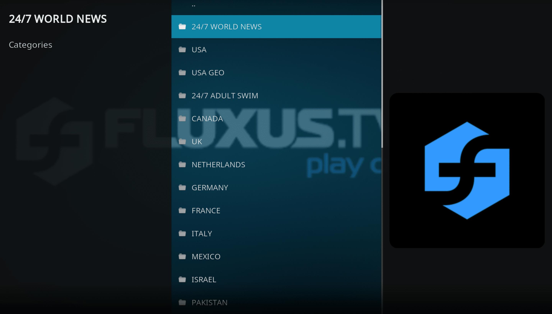 Flexus IPTV Kodi Addon