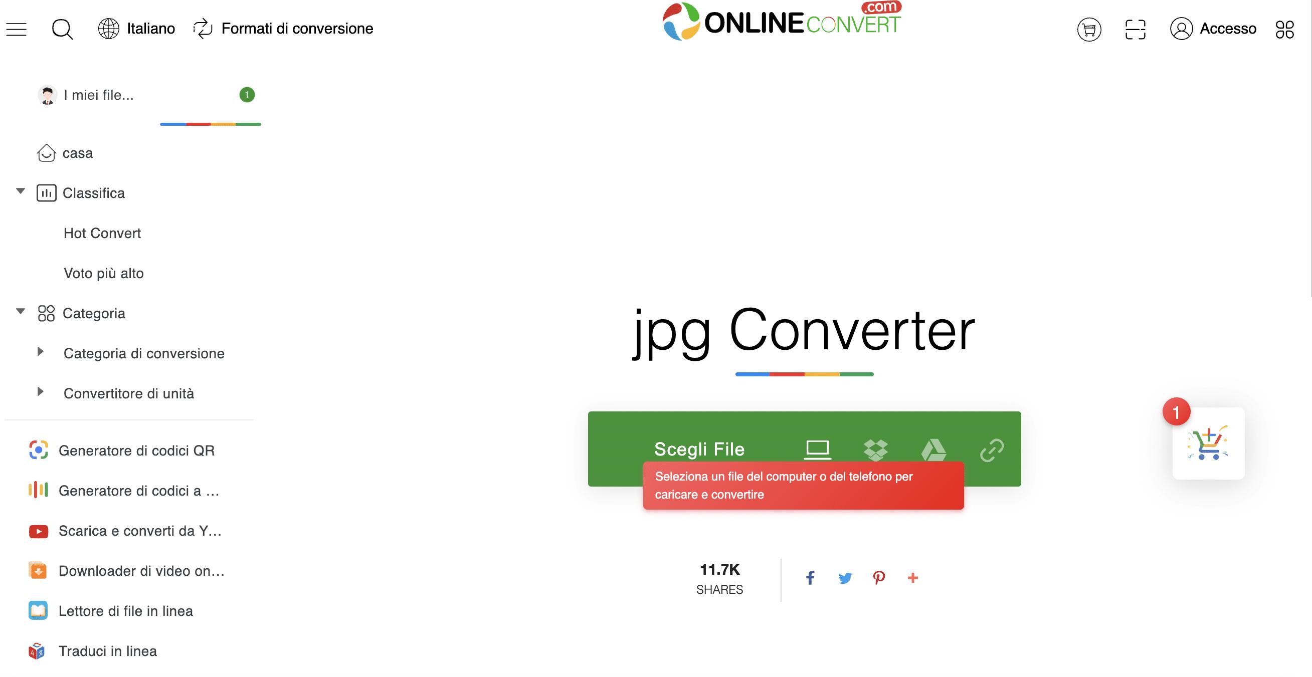 Convertitore di file